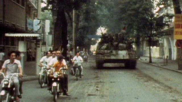 Journalist Don Anderson recalls his memories of the final days of the Vietnam War to BBC Newsline's Andy West