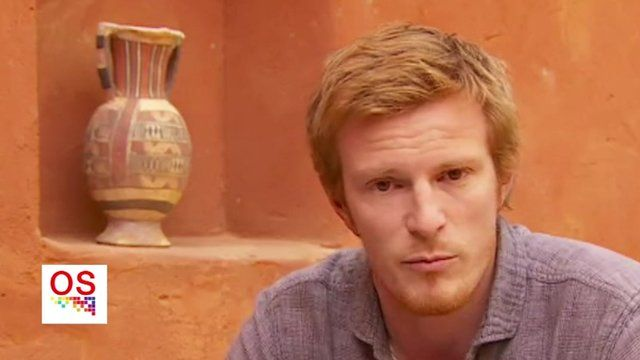 BBC reporter Thomas Fessy reporting from Niger