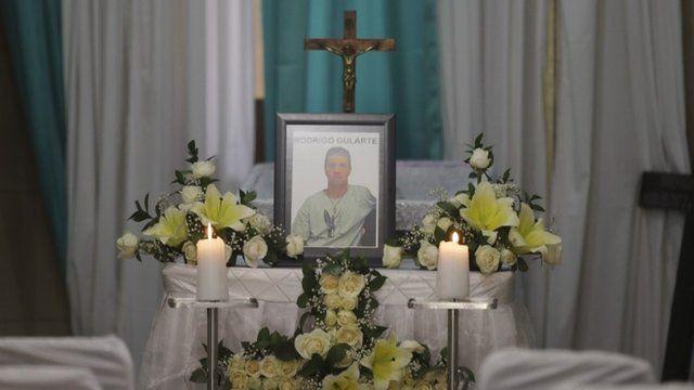 Coffin of Rodrigo Gularte