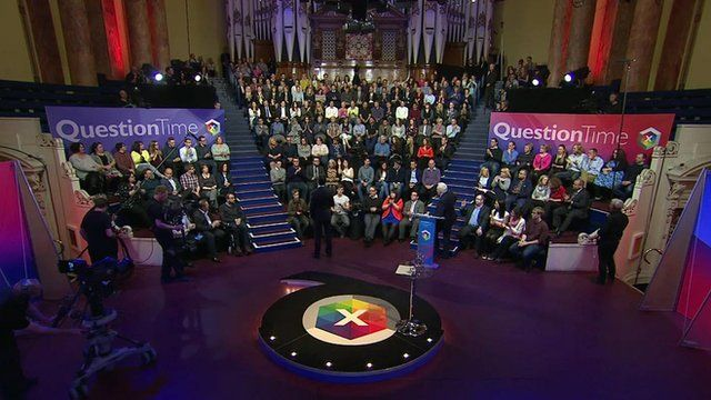 BBC Question Time audience in Leeds