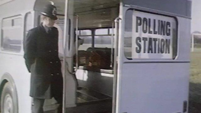 Bus polling station