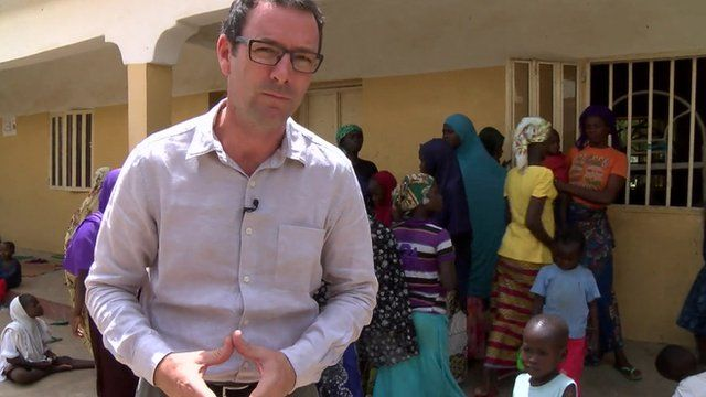Will Ross reports from inside the refugee camp