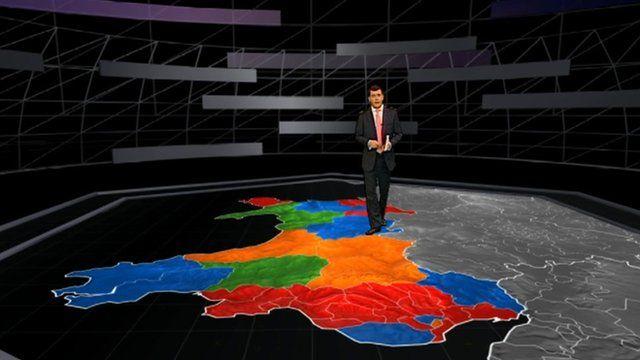 Ar y map: Golwg ar Gymru