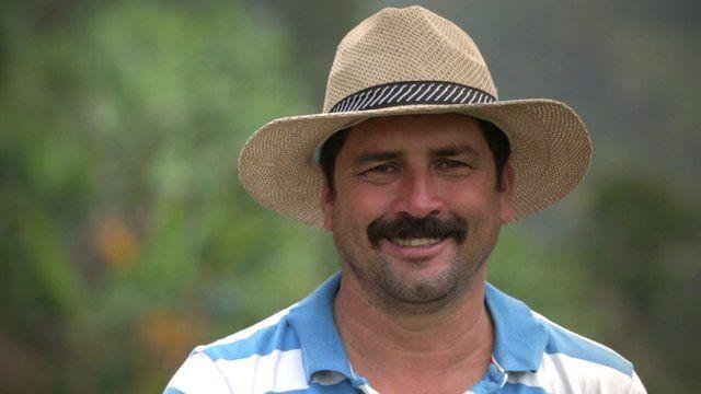 Carlos Castaneda became the image of Juan Valdez in 2006