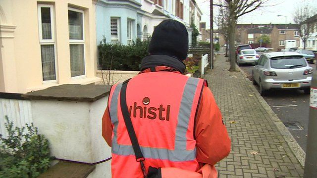 Whistl postman