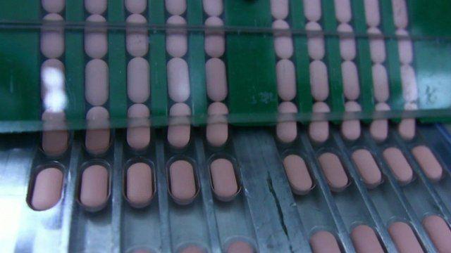 Antibiotics in production
