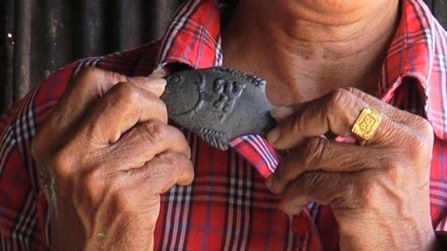 Cambodia 39 s lucky iron fish bbc news for Lucky iron fish snopes