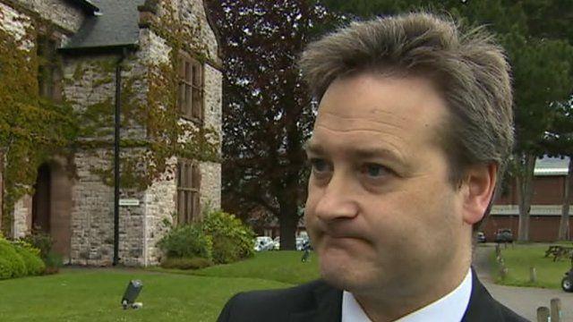 Toby Belfield, head teacher of the independent Ruthin School