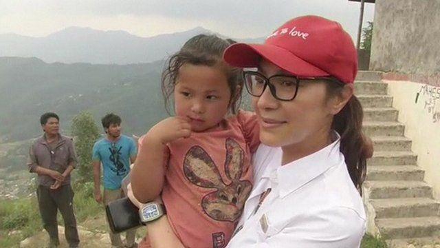 Actress Michelle Yeoh