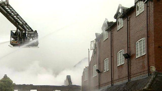 Alveley hotel fire