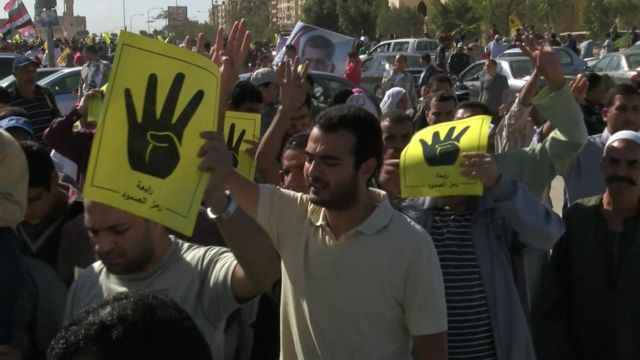 Part of the increase is attributable to Egypt's use of death sentences against Islamists