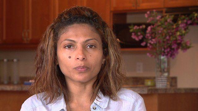Ensaf Haidar, wife of Saudi blogger Raif Badawi