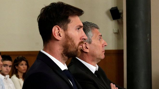 Messi's Spanish jail sentence for tax fraud to stand #Messi
