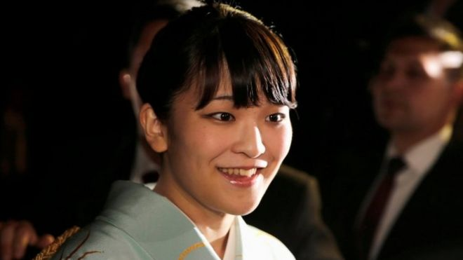 Japanese Princess Mako. File photo