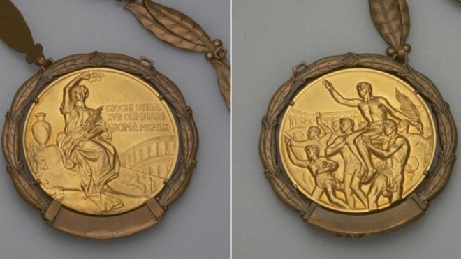 1960 medalla olímpica
