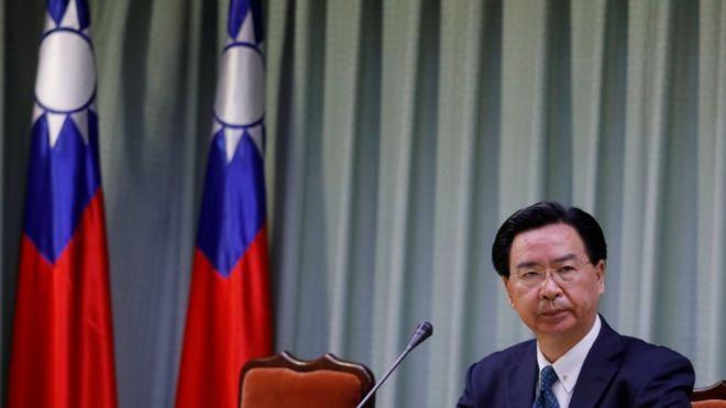 台湾外交部长