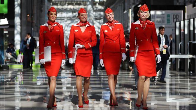 стюардессы аэрофлота фото