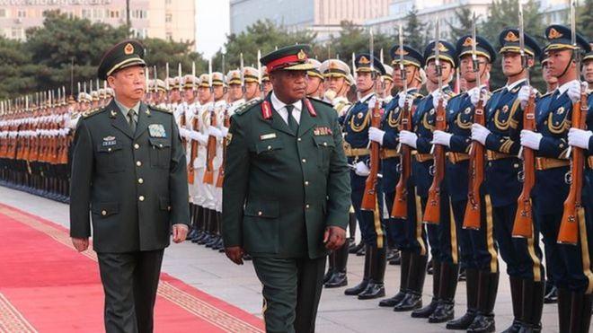 Zimbabwe, Trung Quốc