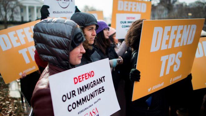 مظاهرة في واشنطن لدعم برنامج الحماية الإنساني