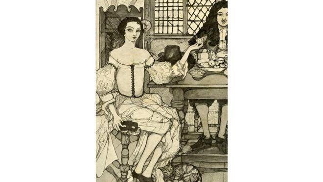 Придворные дамы старались стать частью круга Екатерины, подражая ей во всем, в том числе - в привычке пить чай