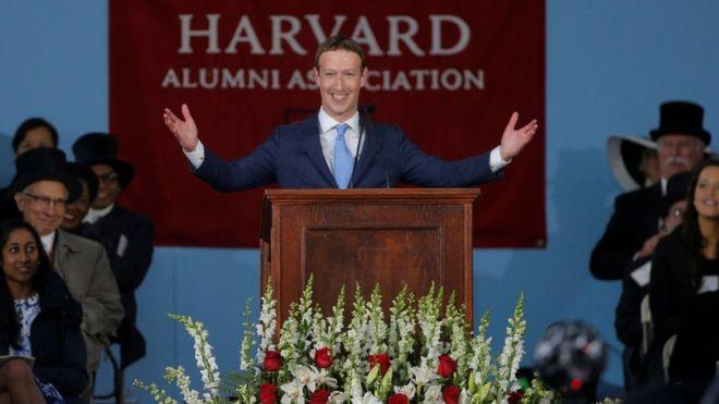 Resultado de imagen de Mark Zuckerberg harvard