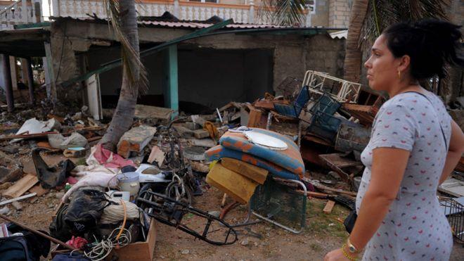 Resultado de imagen para huracan irma en cuba