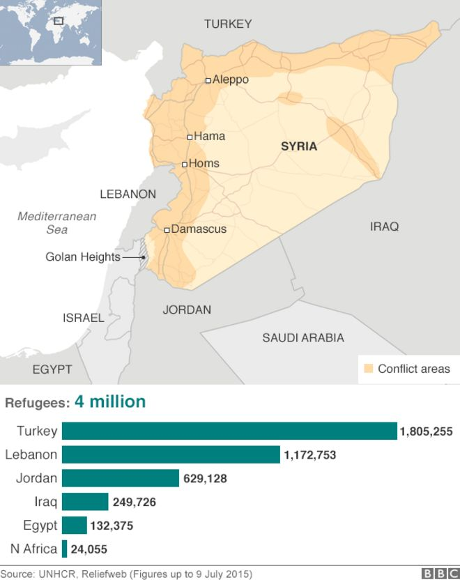 Syria Mapping the conflict BBC News – Syria Map World