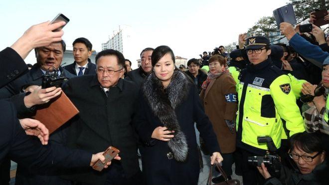 North Korea Moranbong Girl Band Leader Heads Olympic Inspection Team