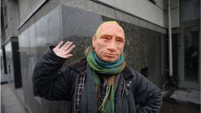 На митинге Навального