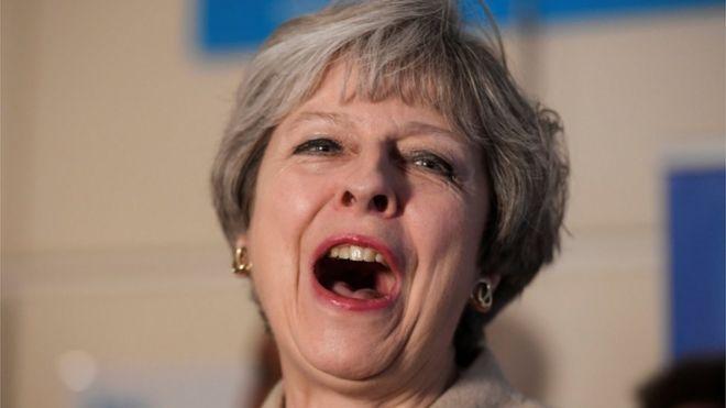 Theresa May in Ealing