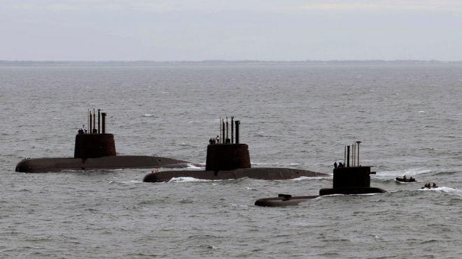 Un submarino de la Armada de Argentina desaparece en aguas de la Patagonia con 44 personas a bordo