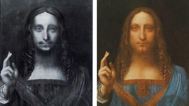 Самую дорогую картину да Винчи выставят в Лувре-Абу-Даби