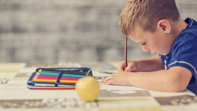 Homework and primary grades