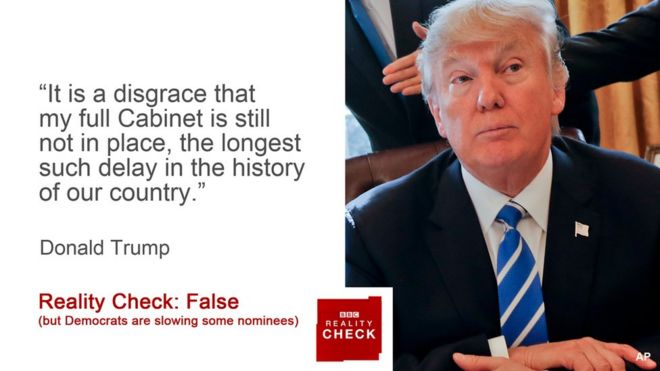 Reality check: Is Donald Trump's cabinet facing historic ...