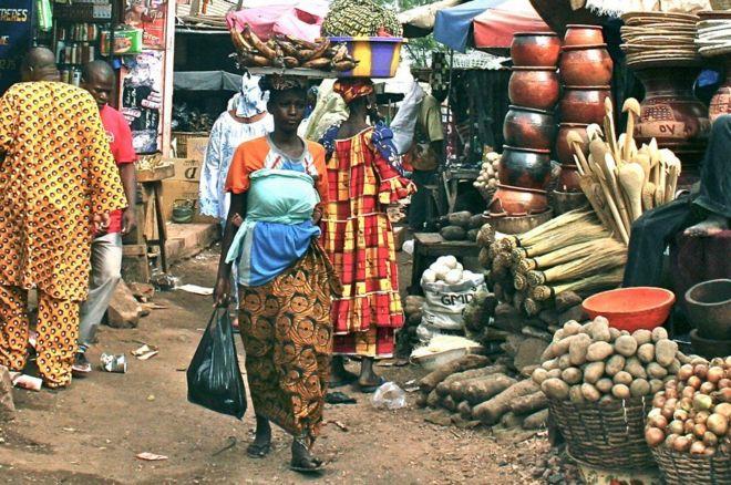 سوق في باماكو