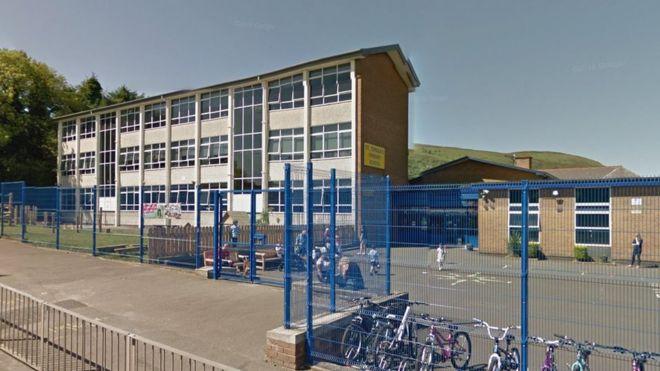 St Teresa's Primary School in west Belfast