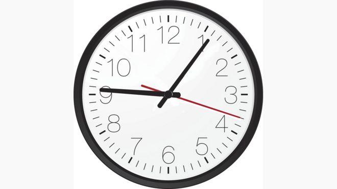 Reloj que muestra 9,06