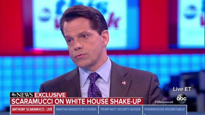 Scaramucci: Plotters seeking Trump exit