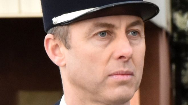 A undated handout picture made available by the French Gendarmerie Nationale on 24 March 2018 shows Lieutenant Colonel Arnaud Beltrame