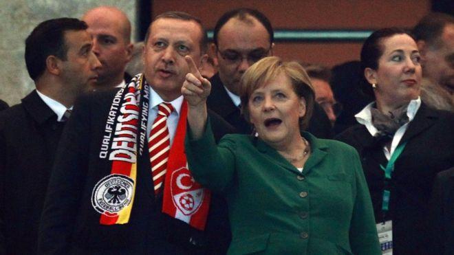 انجيلا ميركل: لا مكان لتركيا في اتحادنا الاوروبي