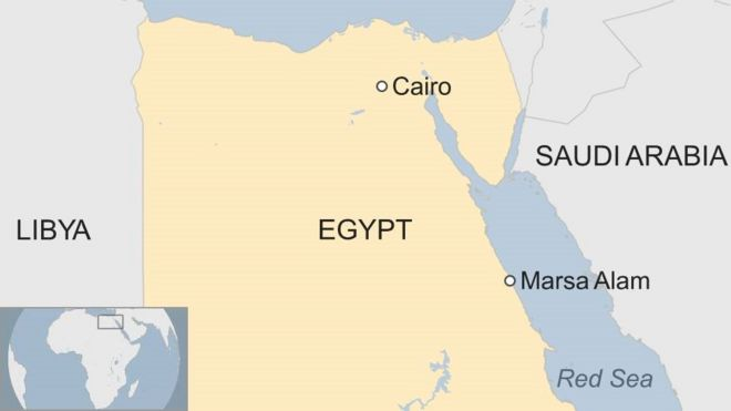 Polish Tourists Death In Egypt May Be Linked To Trafficking - Map of egypt marsa alam