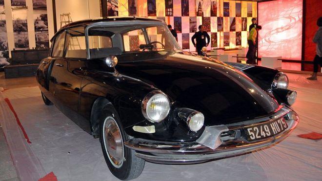 El Citroën DS del presidente de Francia Charles de Gaulle