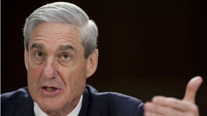 Special counsel prosecutor Robert Mueller