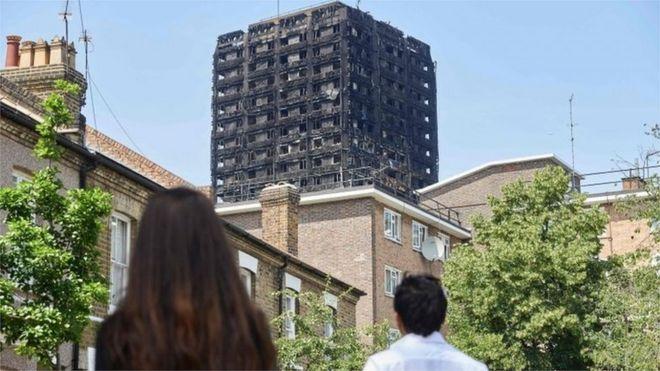 La policía de Londres dice que el incendio de la Torre Grenfell comenzó por un refrigerador defectuoso y que el revestimiento no pasó las pruebas de seguridad