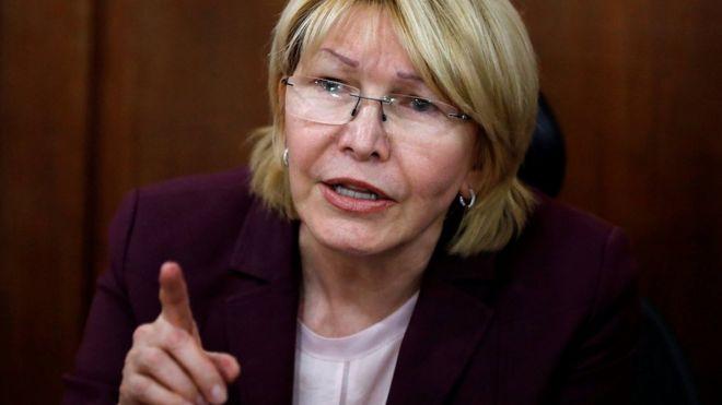 Fiscal general de Venezuela, Luisa Ortega Díaz.
