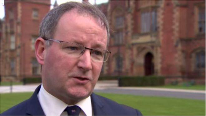 Patrick G. Johnston Patrick Johnston Tributes paid to Queens University VC BBC News