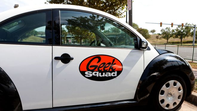 Geek Squad cars