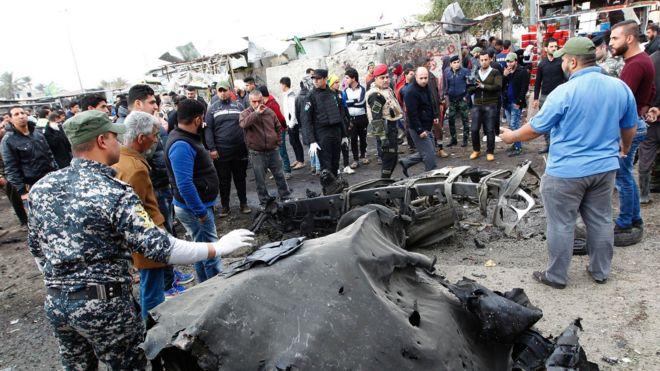 """Résultat de recherche d'images pour """"Iraq, Baghdad city, new suicid attacks, 2017"""""""