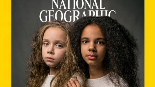 Portada del número de abril de la revista National Geographic.