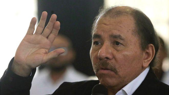 Daniel Ortega en el diálogo nacional